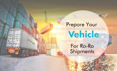 Prepare your vehicle for Ro-Ro shipments
