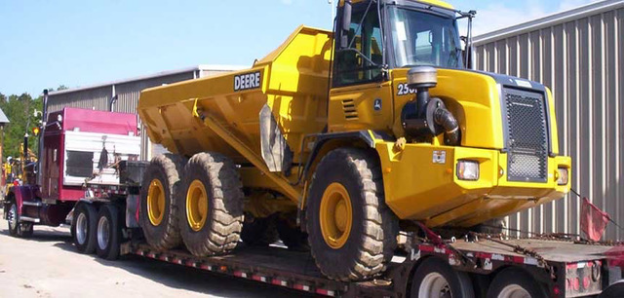 International Heavy Machinery Shipping